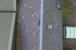 Assessing obscure roof sections