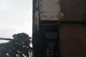 Gap in soffit box